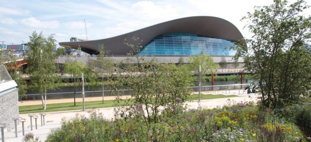 Aquatics Centre, London Olympic Park